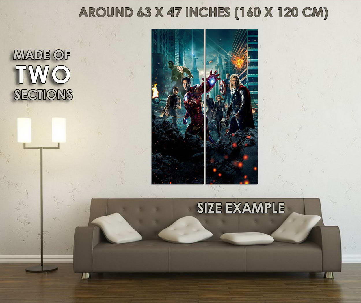10273-Avengers-Age-of-Ultron-Movie-Art-LAMINATED-POSTER-CA thumbnail 6