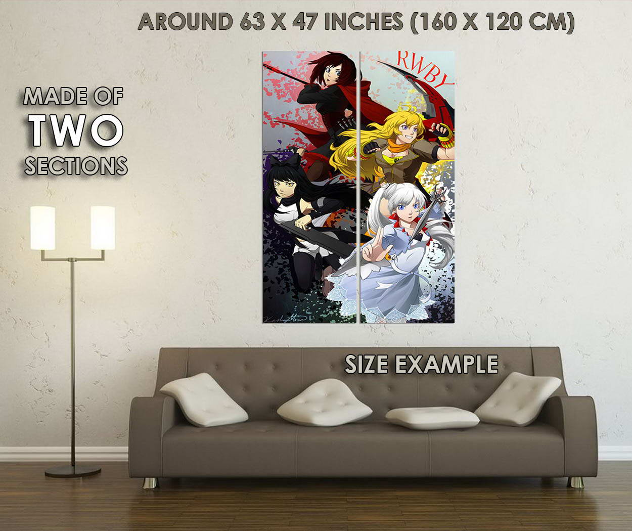 10293-RWBY-Volume-2-3-Hot-Anime-Ruby-Rose-LAMINATED-POSTER-CA thumbnail 6