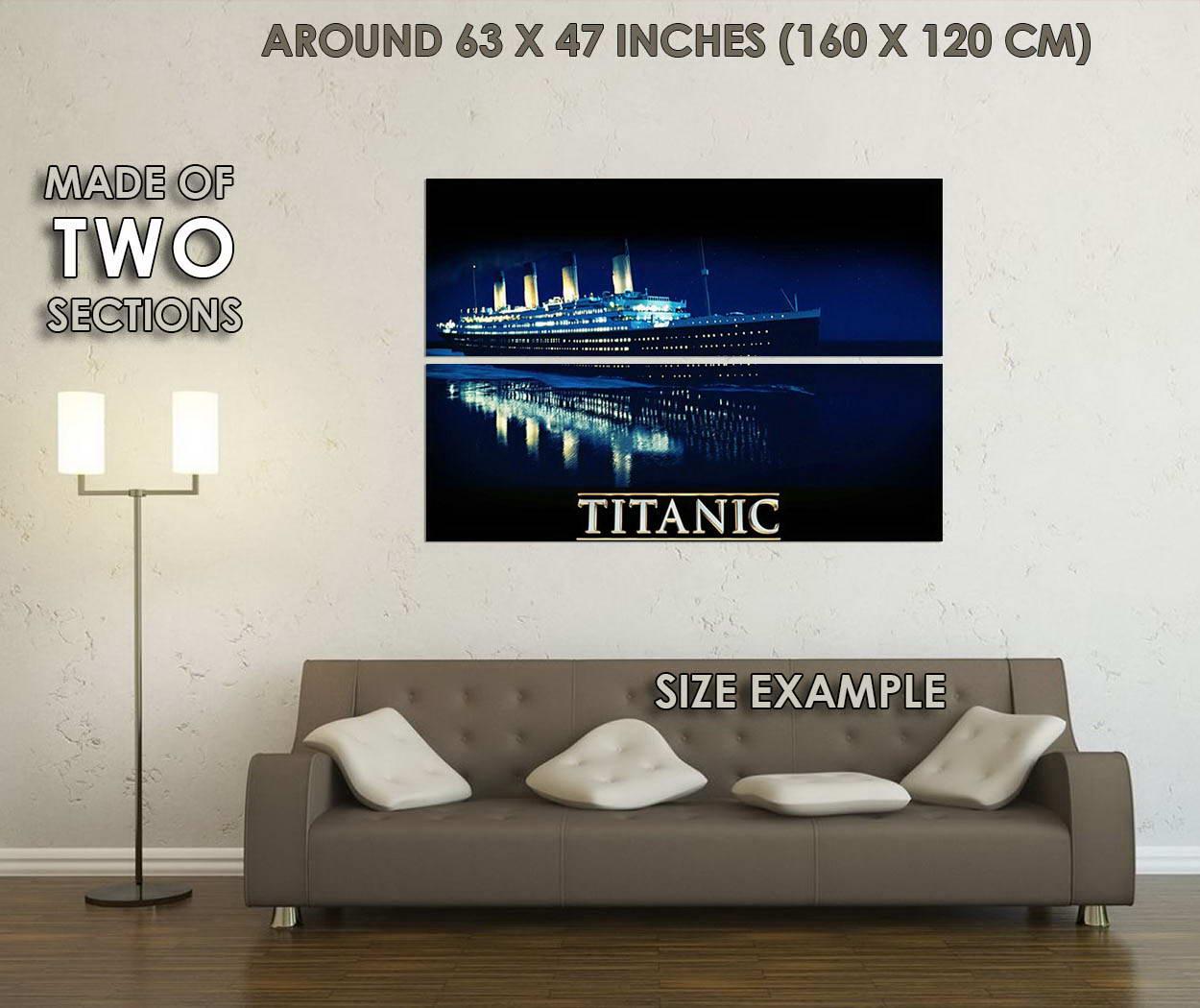 10313-TITANIC-Movie-Ship-Sea-Night-LAMINATED-POSTER-CA thumbnail 6