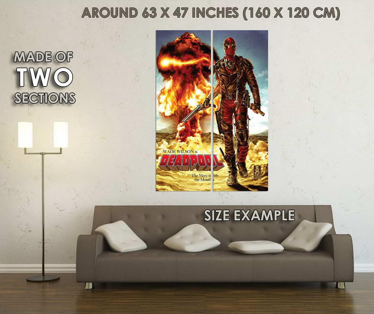 10415-Deadpool-Superheroes-Comic-Movie-LAMINATED-POSTER-CA thumbnail 6