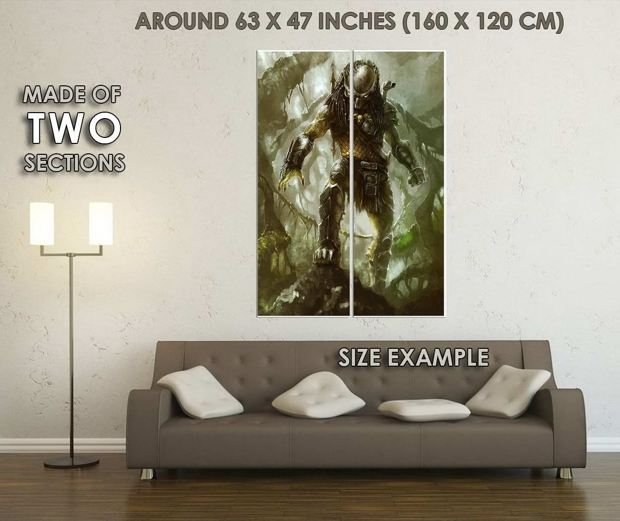 10427-Alien-vs-Predator-3-Movie-Art-LAMINATED-POSTER-CA thumbnail 6