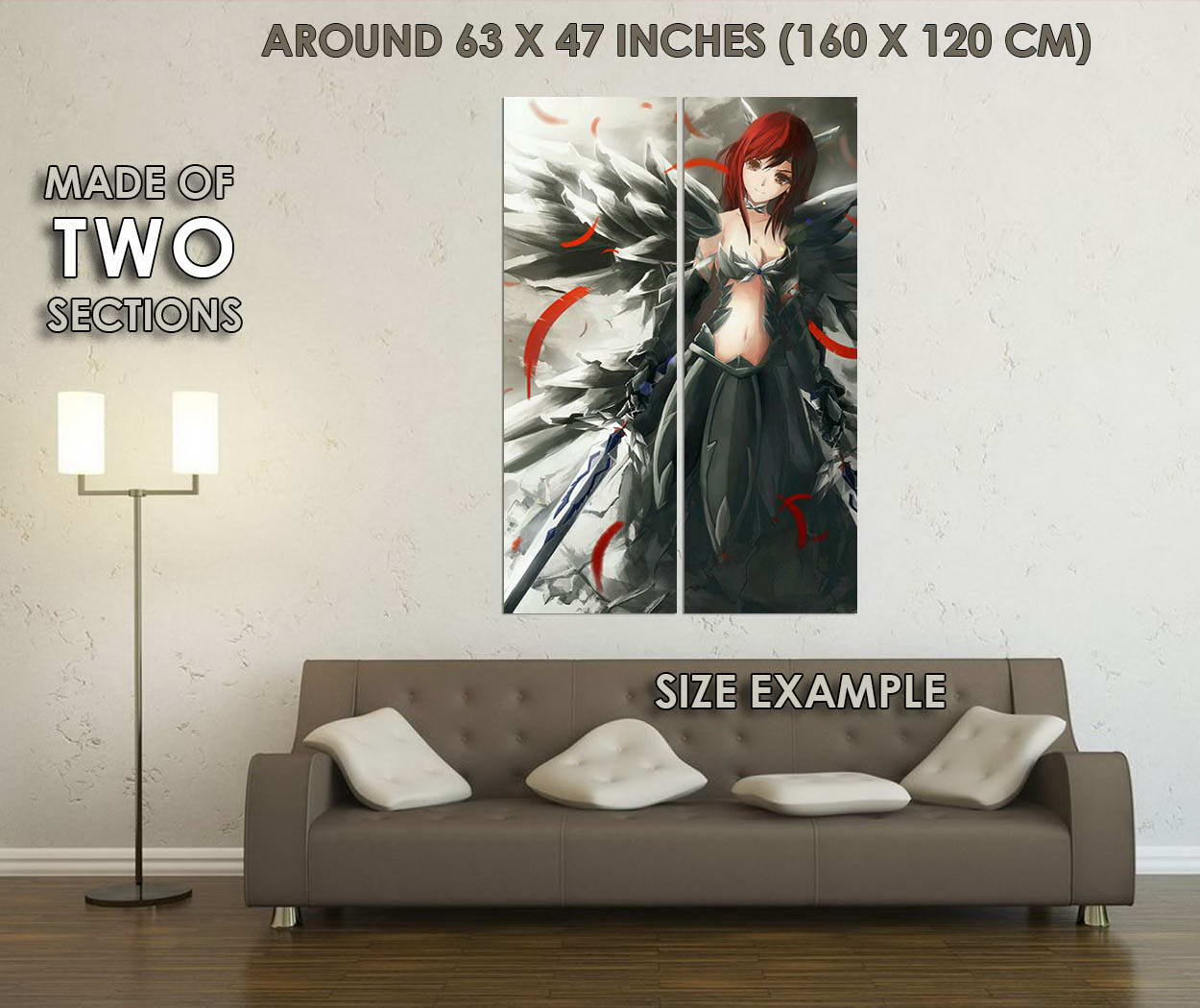 10435-FAIRY-TAIL-Anime-Erza-Scarlet-LAMINATED-POSTER-CA thumbnail 6