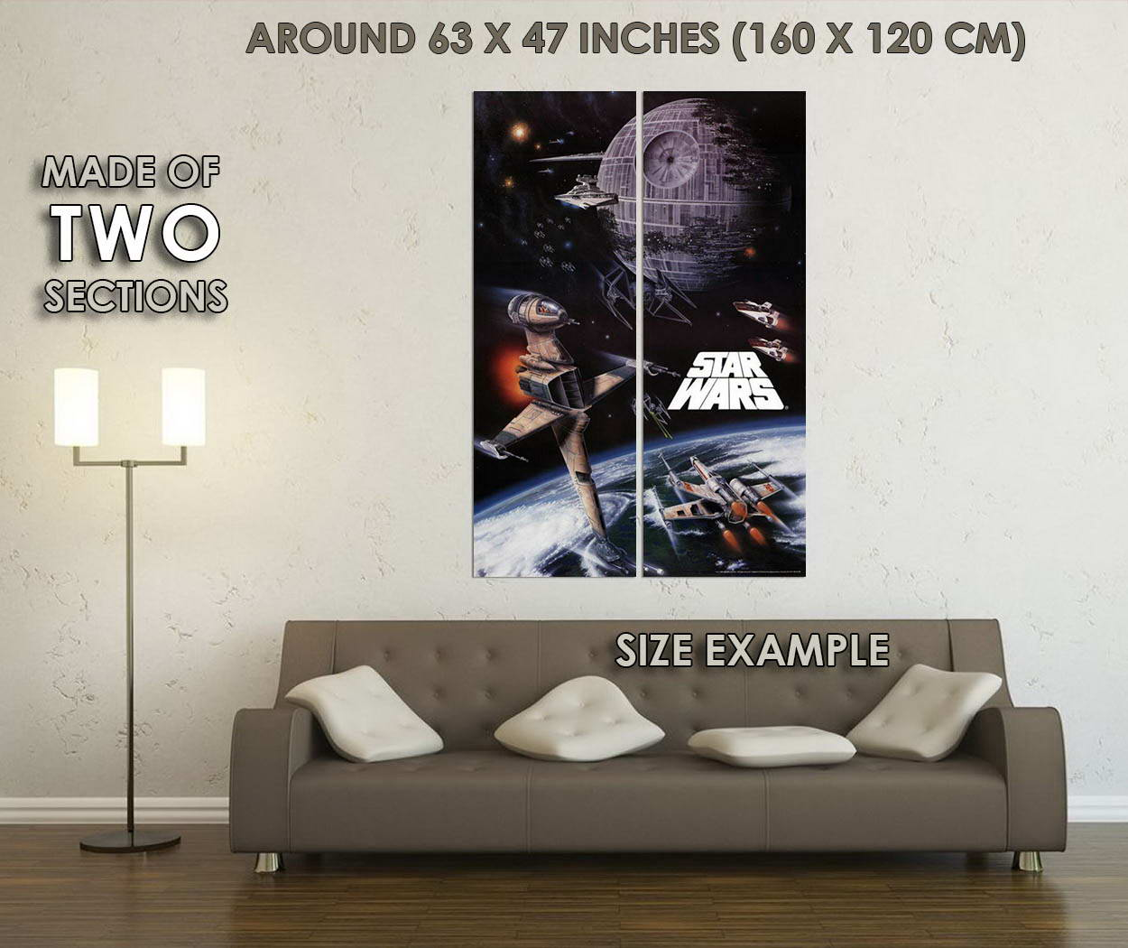 10459-Star-Wars-Rogue-Squadron-Game-LAMINATED-POSTER-CA thumbnail 6