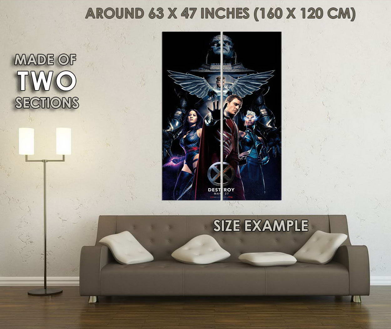 10475-X-Men-Apocalypse-Movie-LAMINATED-POSTER-CA thumbnail 6