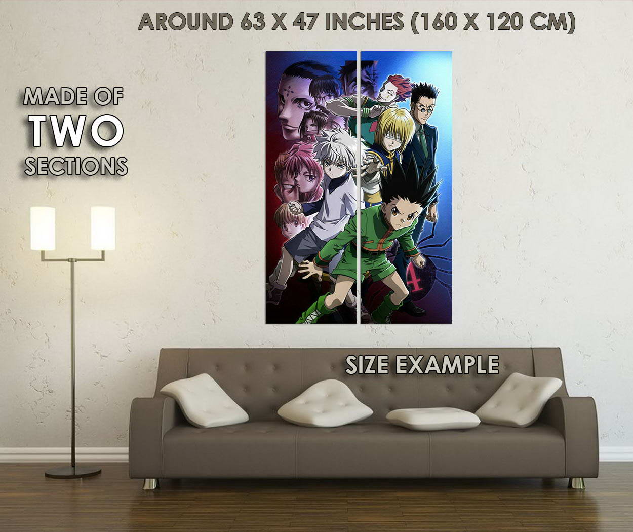 10489-Hunter-x-Hunter-Anime-Killua-Zoldyck-GON-FREECSS-LAMINATED-POSTER-CA thumbnail 6