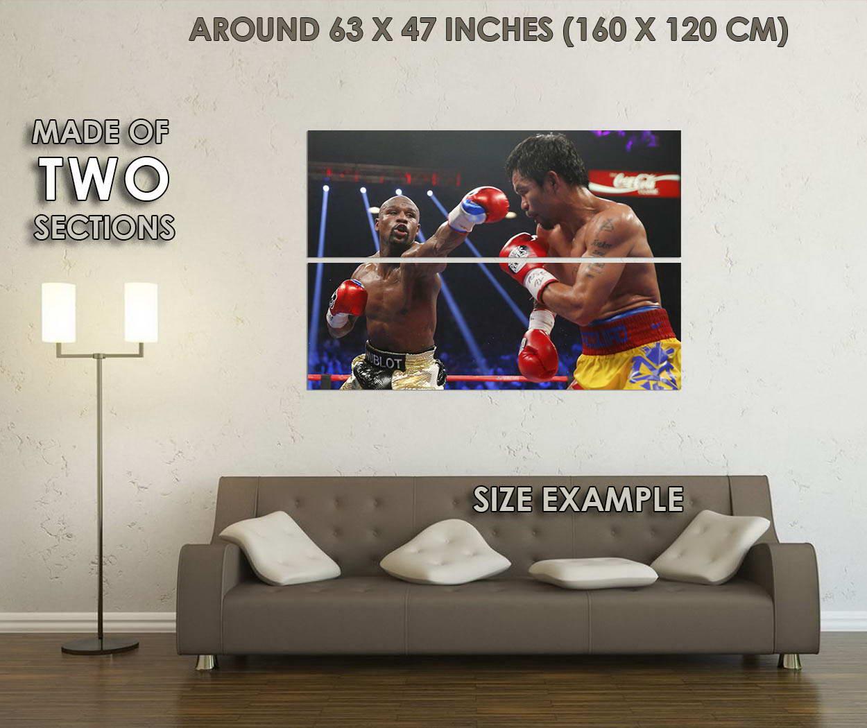10501-Manny-Pacquiao-v-Floyd-Mayweather-Boxing-LAMINATED-POSTER-CA thumbnail 6