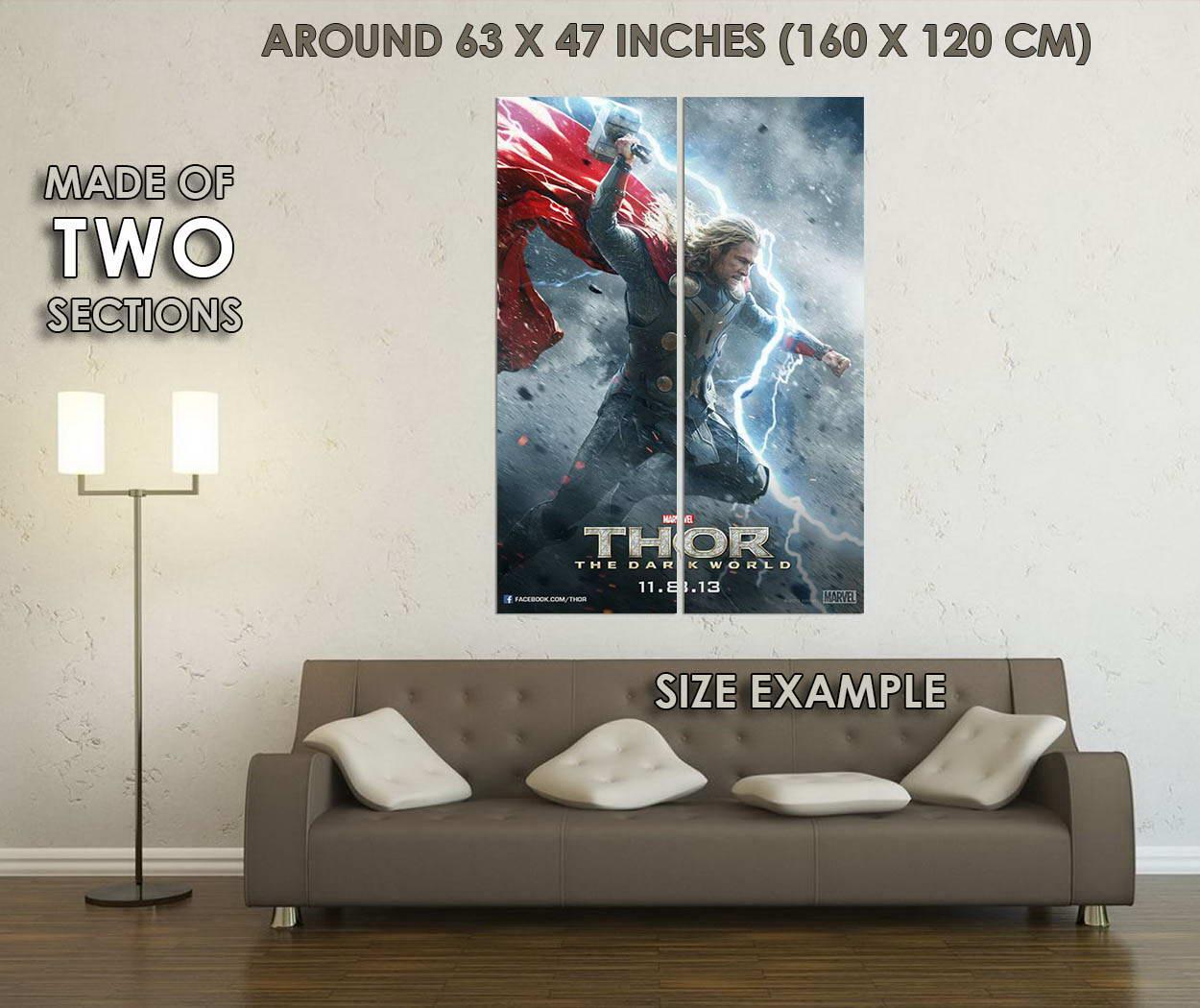 10514-Thor-2-The-Dark-World-Movie-Loki-LAMINATED-POSTER-CA thumbnail 6