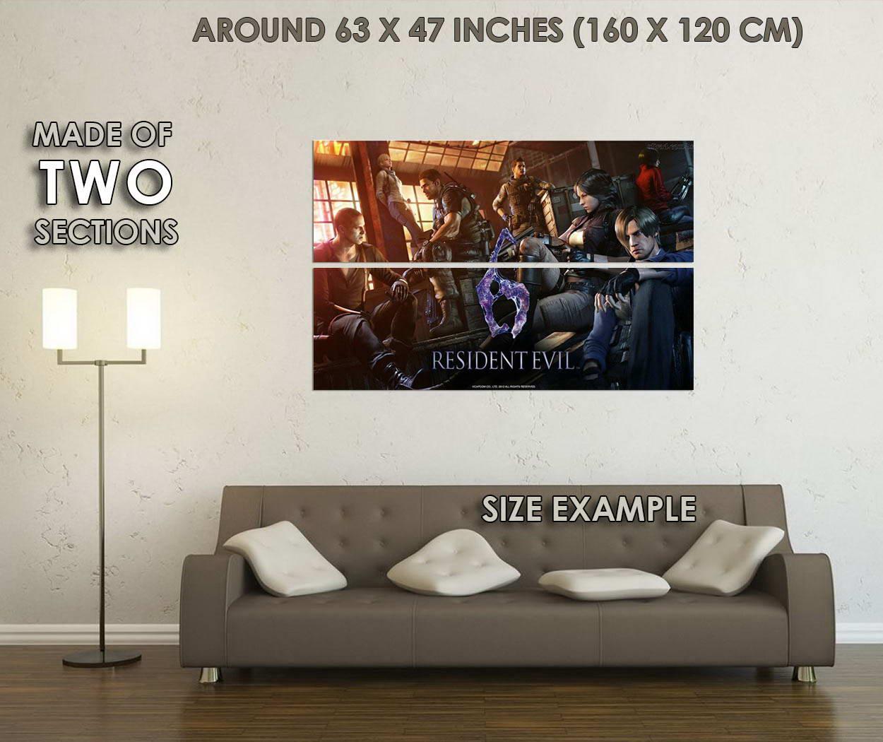 10545-Resident-Evil-6-Game-Leon-Scott-Kennedy-LAMINATED-POSTER-CA thumbnail 6