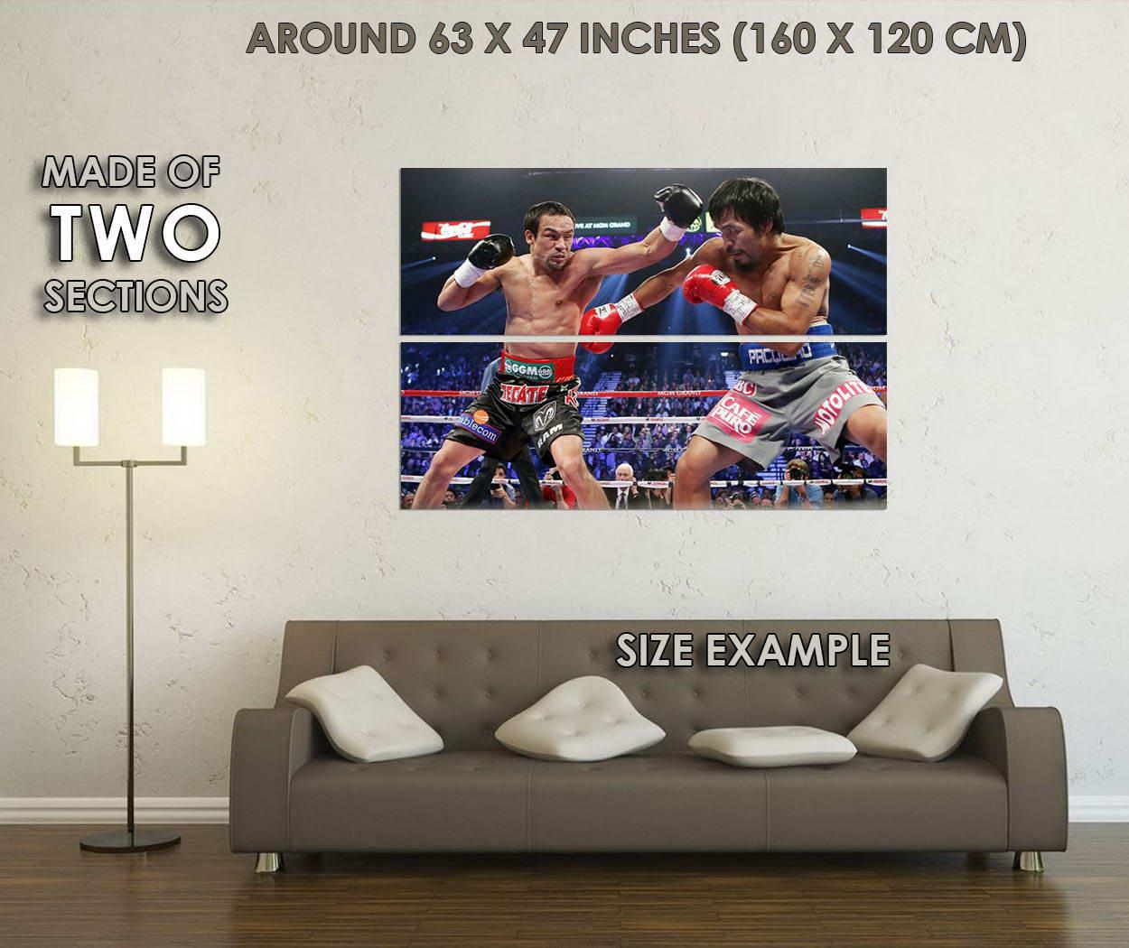 10556-Manny-Pacquiao-vs-Juan-Manuel-Marquez-Boxing-LAMINATED-POSTER-CA thumbnail 6