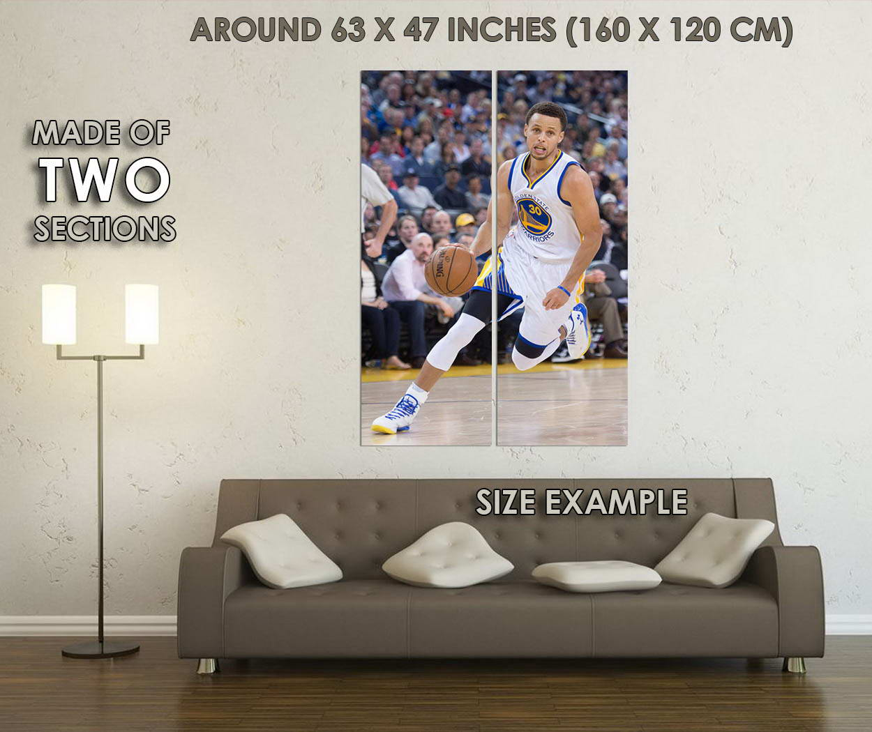10568-Stephen-Curry-Super-Basketball-Star-Canvas-LAMINATED-POSTER-CA thumbnail 6