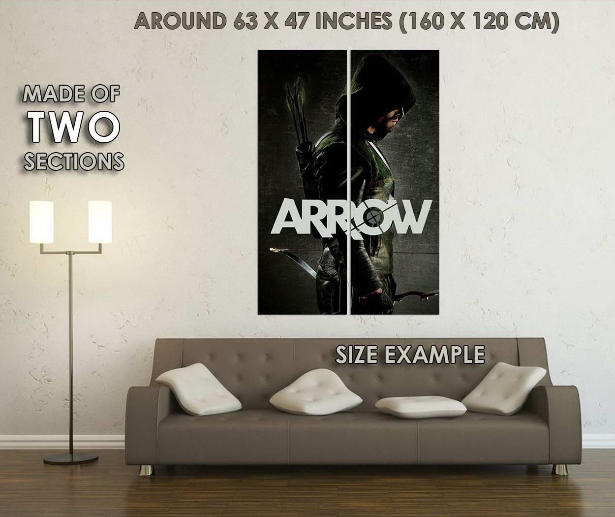 10594-The-Arrow-Superheroes-TV-Series-Art-LAMINATED-POSTER-CA thumbnail 6