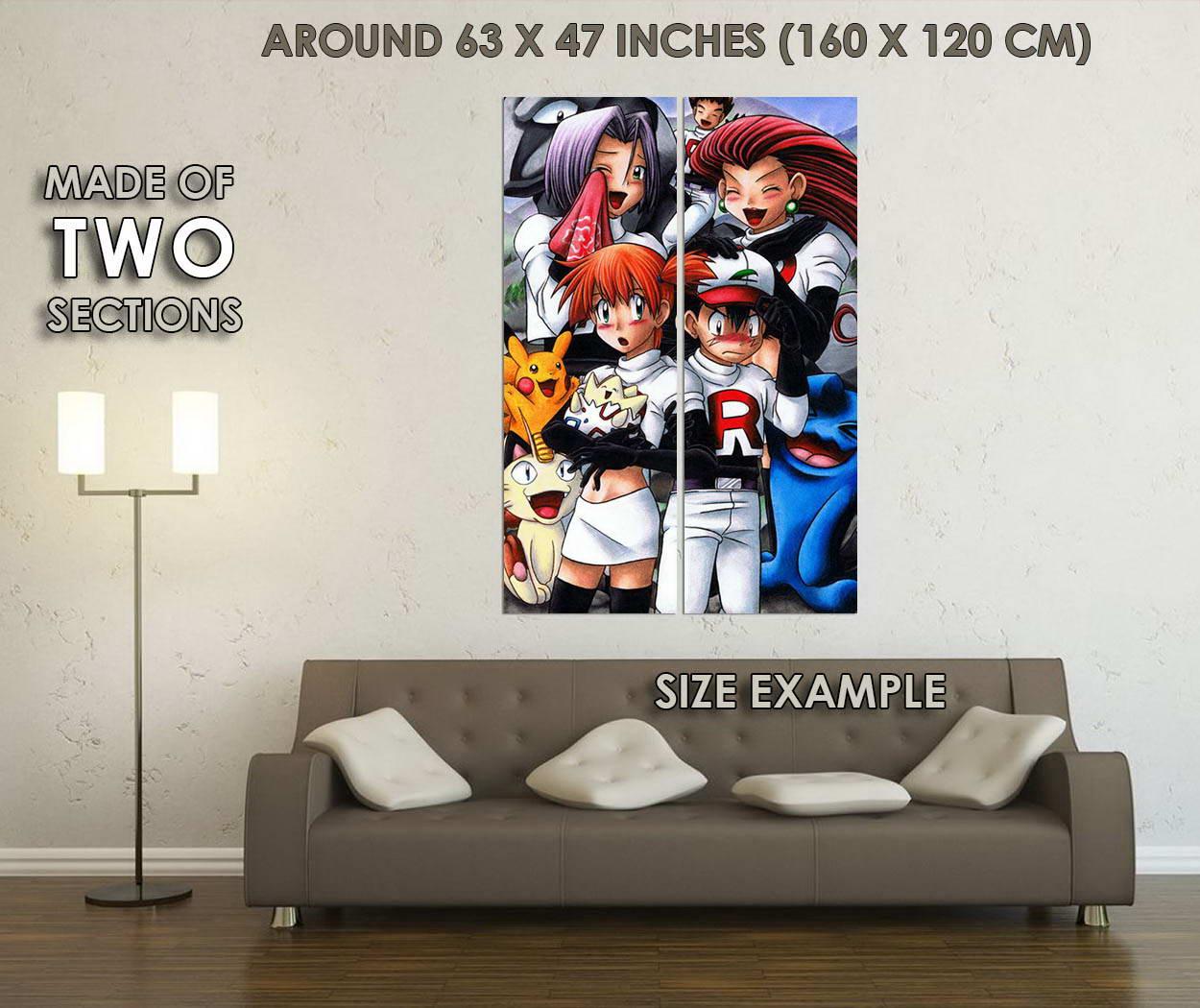 10612-Pocket-Monster-Pikachu-Anime-LAMINATED-POSTER-CA thumbnail 6
