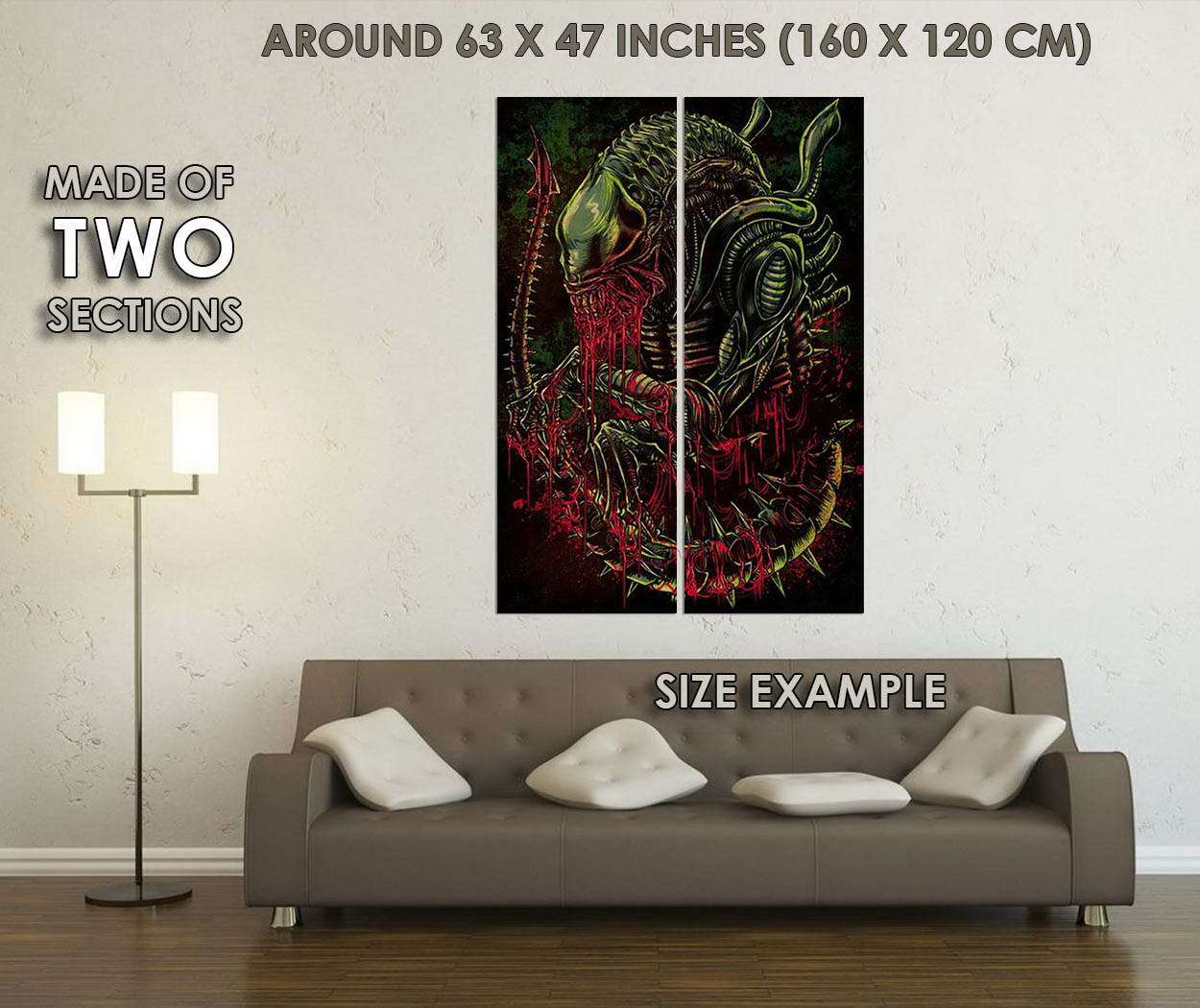 10637-Alien-Psychedelic-Trippy-Abstract-Movie-LAMINATED-POSTER-CA thumbnail 6