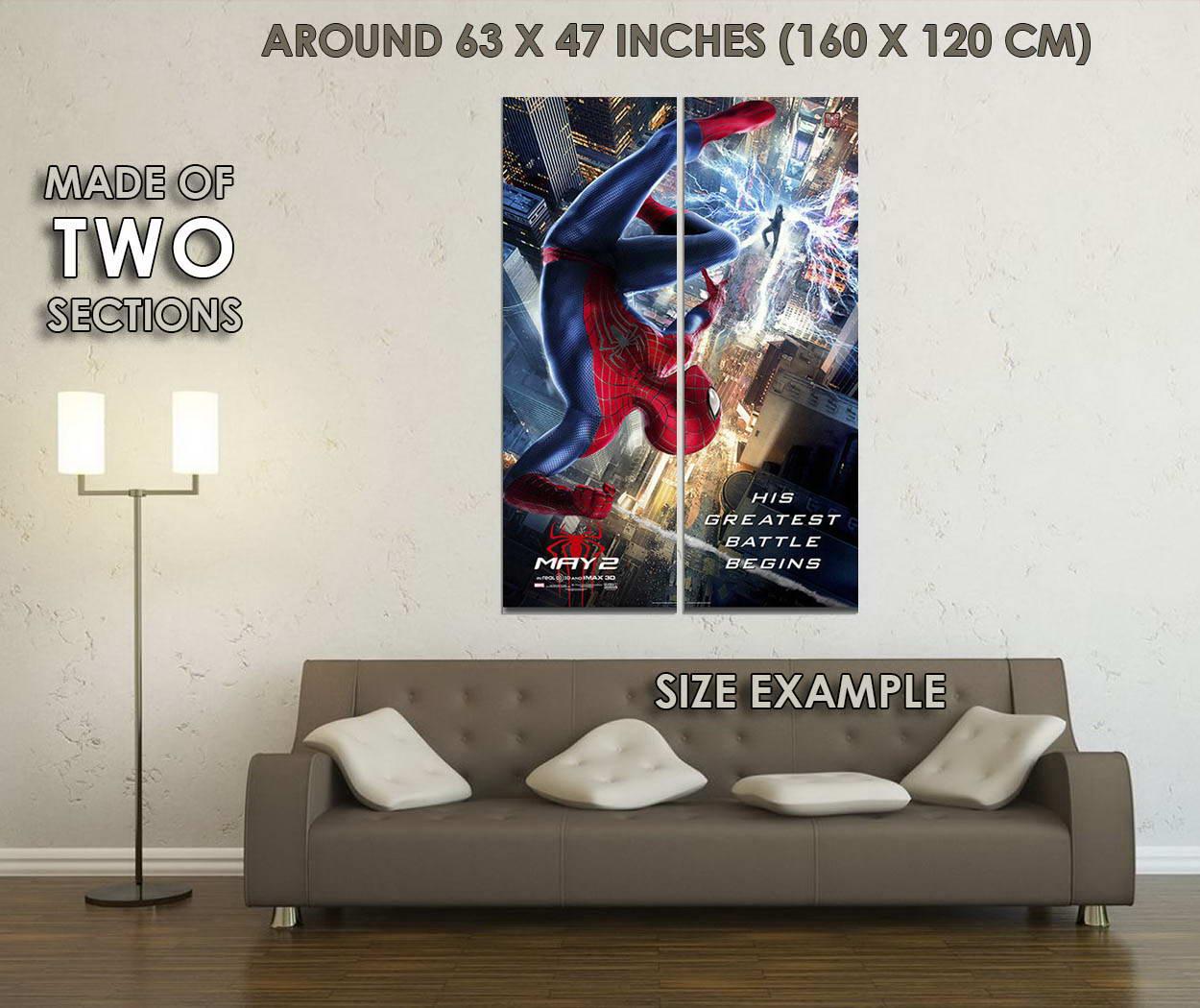 10658-The-Amazing-Spider-Man-Movie-Art-LAMINATED-POSTER-CA thumbnail 6