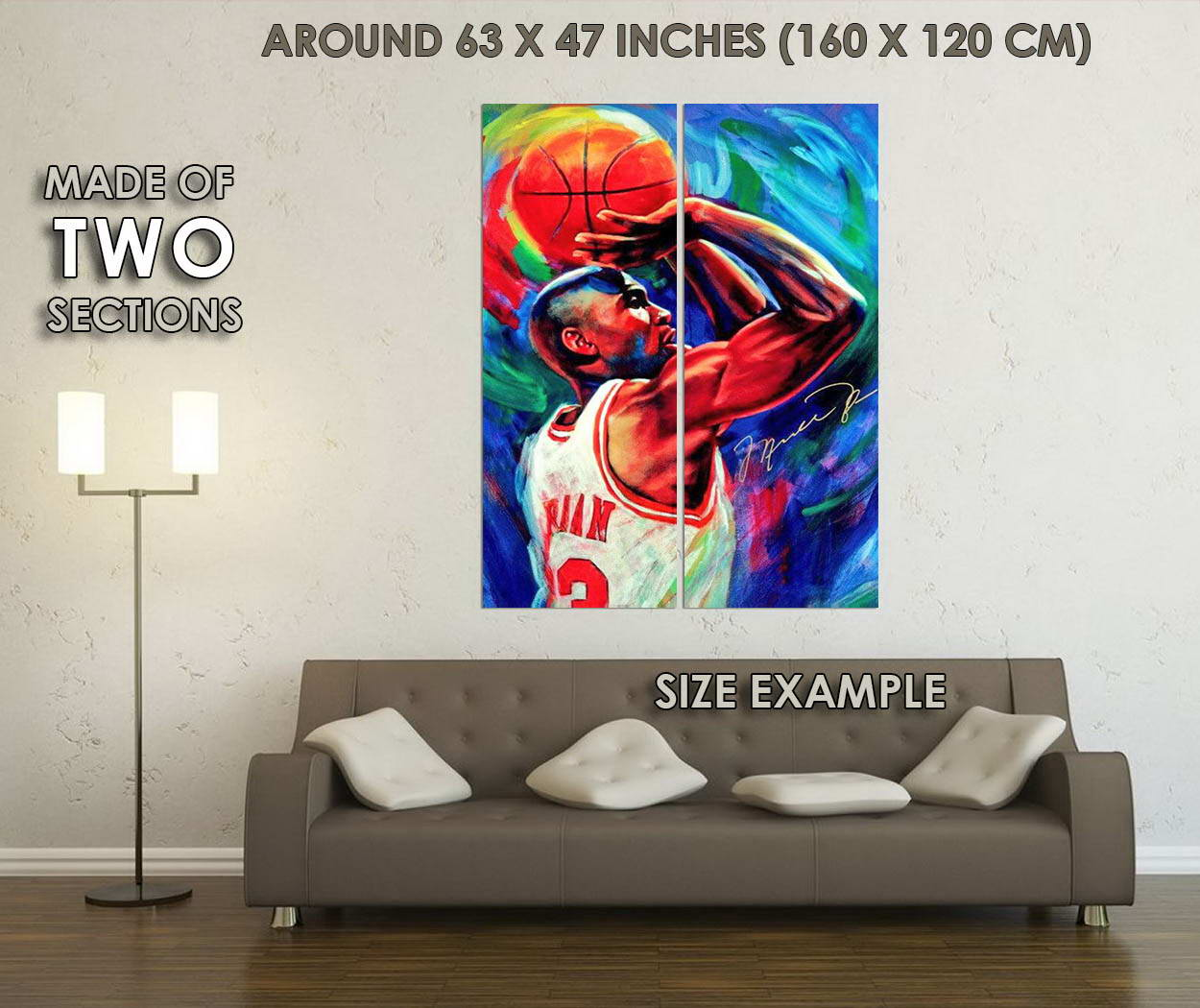 10666-Michael-Jordan-Basketball-Sports-LAMINATED-POSTER-CA thumbnail 6