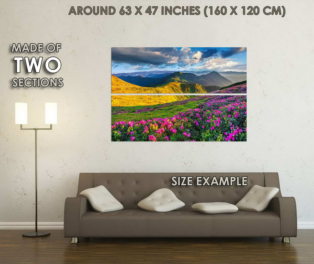 10671-Azalea-Mountains-Flowers-Nature-LAMINATED-POSTER-CA thumbnail 6