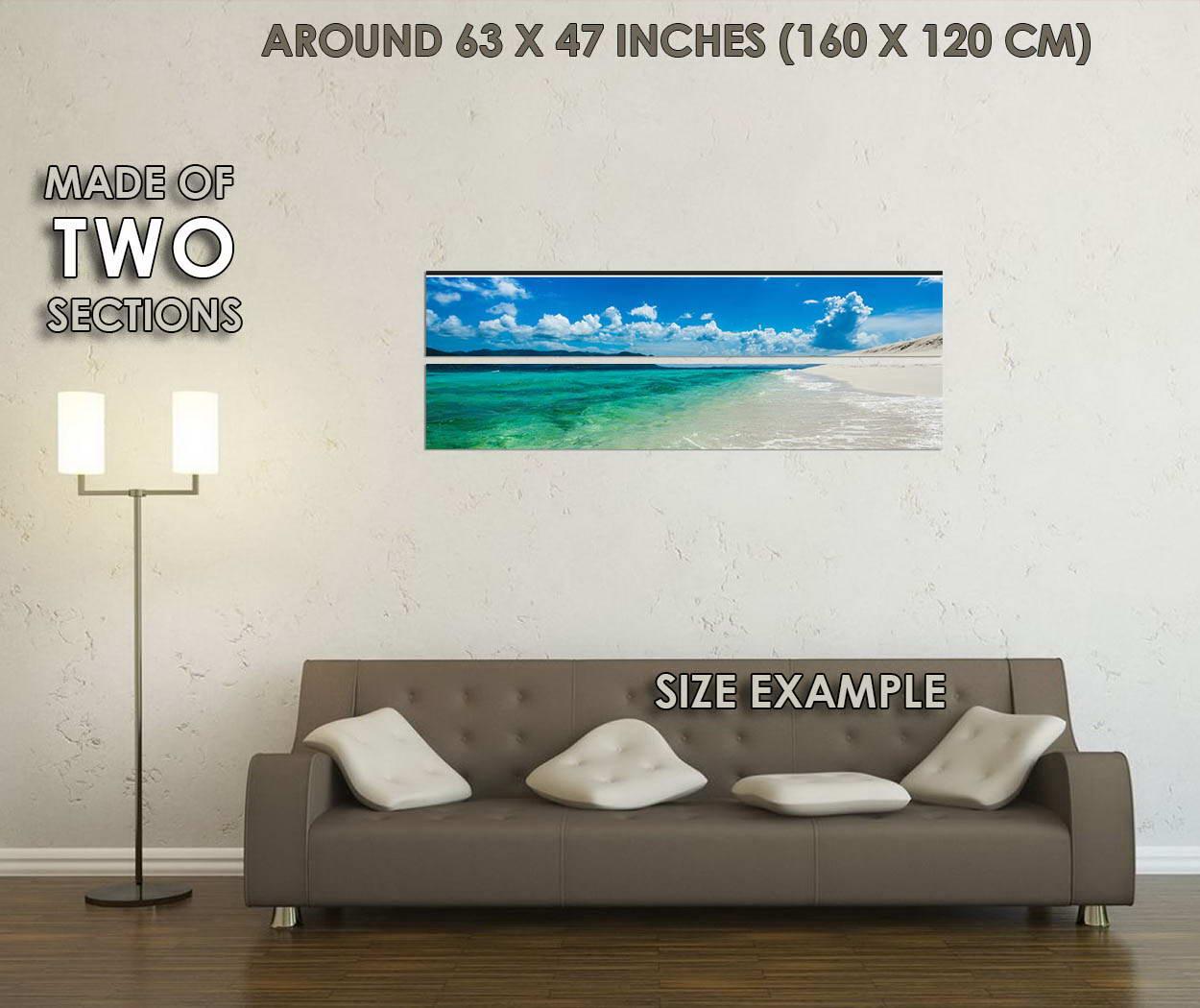 10698-Hawaii-Sea-Beach-Skyline-Nature-Seascape-LAMINATED-POSTER-CA thumbnail 6