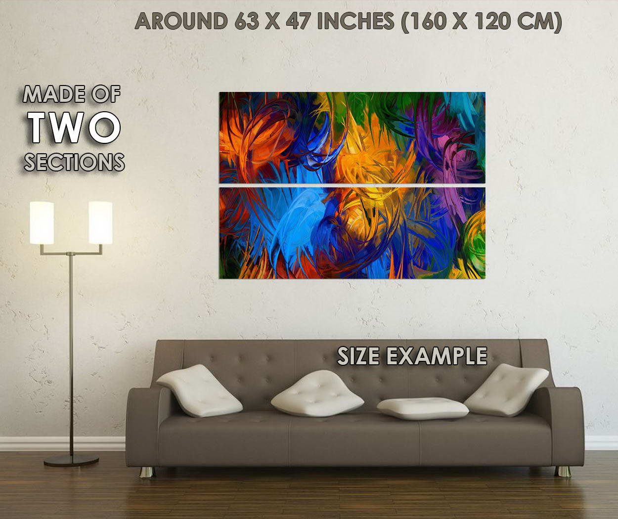 10700-Psychedelic-Trippy-Abstract-Art-LAMINATED-POSTER-CA thumbnail 6