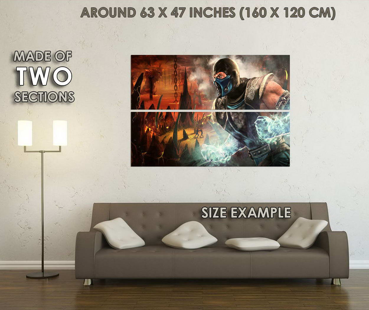 10707-Mortal-Kombat-X-MK-Hot-Fighting-Game-Art-LAMINATED-POSTER-CA thumbnail 6