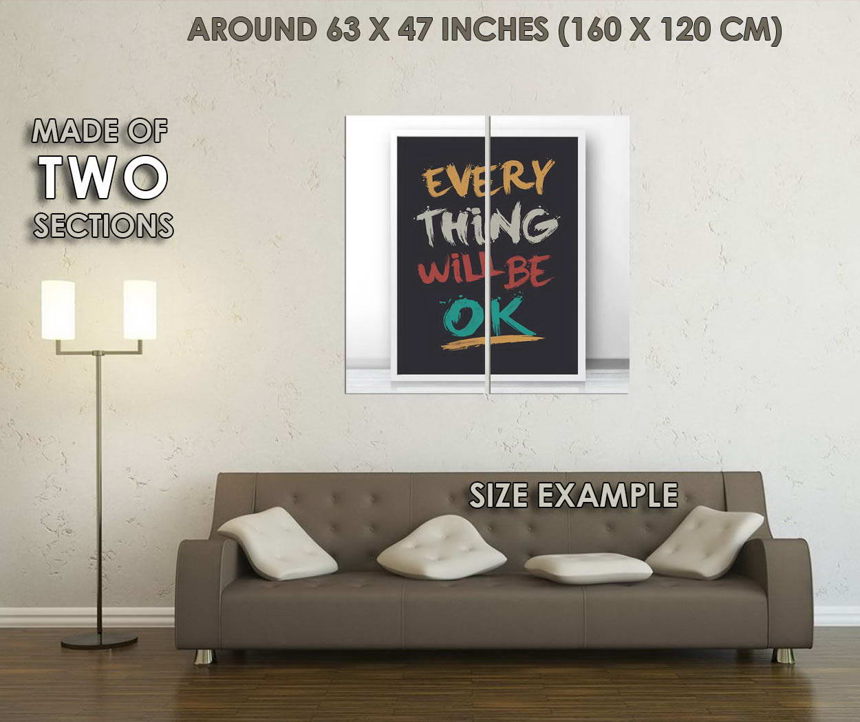 10717-Motivational-Quote-Minimalist-Art-Modern-Home-Office-GLOSSY-POSTER-CA thumbnail 6