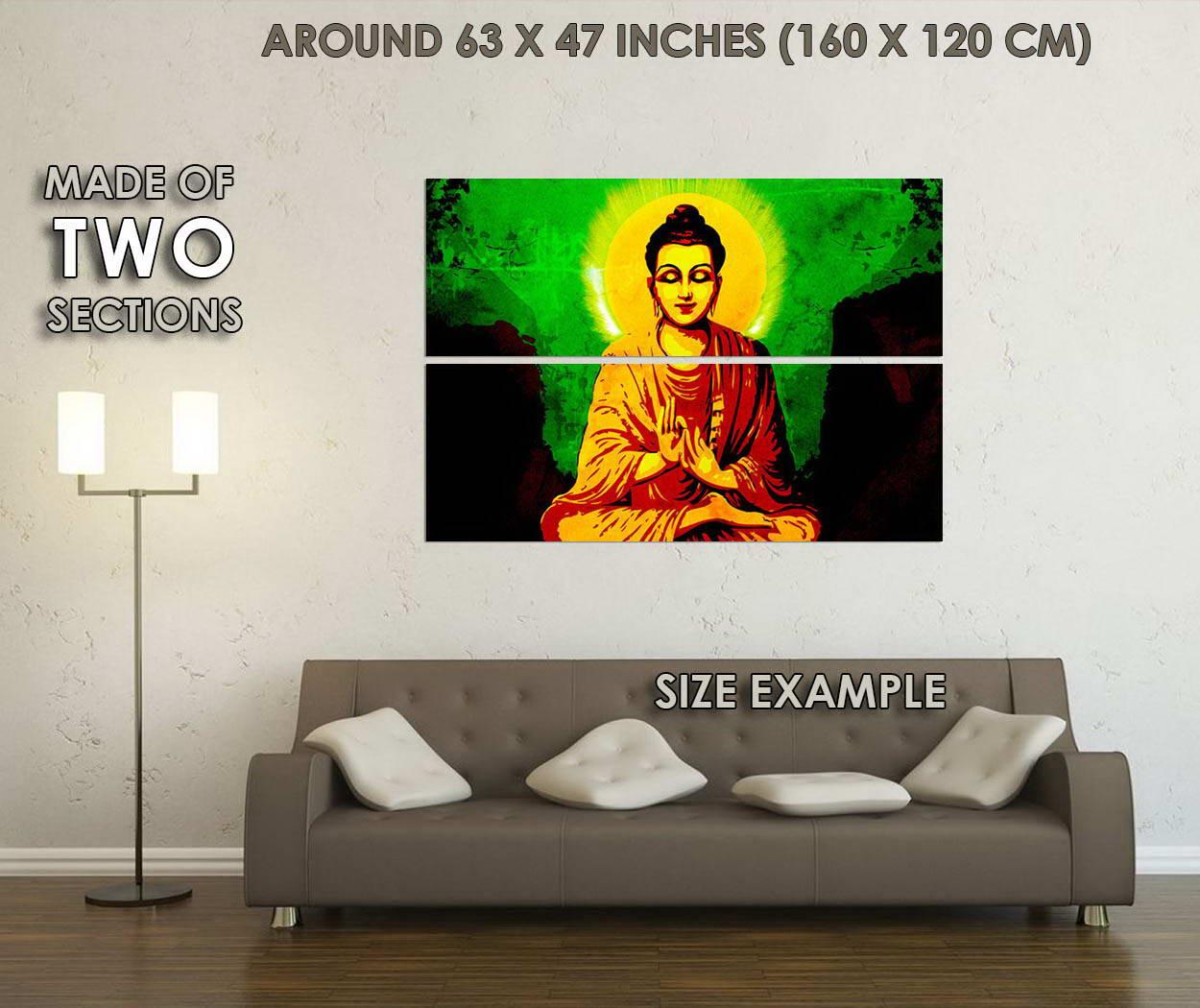 10771-Buddha-Motivational-Buddhism-Lotus-LAMINATED-POSTER-CA thumbnail 6