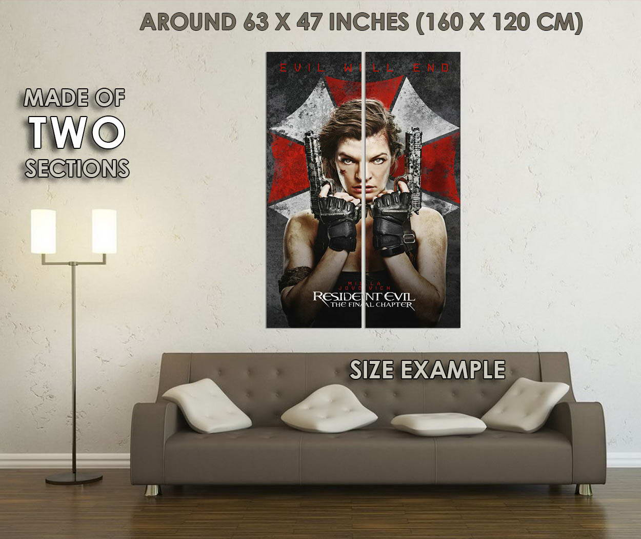 10783-Resident-Evil-The-Final-Chapter-New-Movie-LAMINATED-POSTER-CA thumbnail 6
