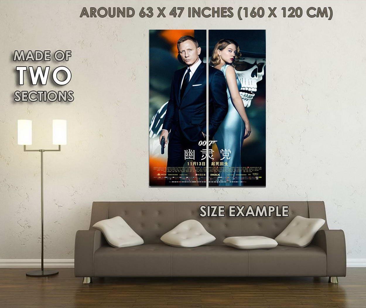 10785-James-Bond-24-Spectre-2-Mo-Art-LAMINATED-POSTER-CA thumbnail 6