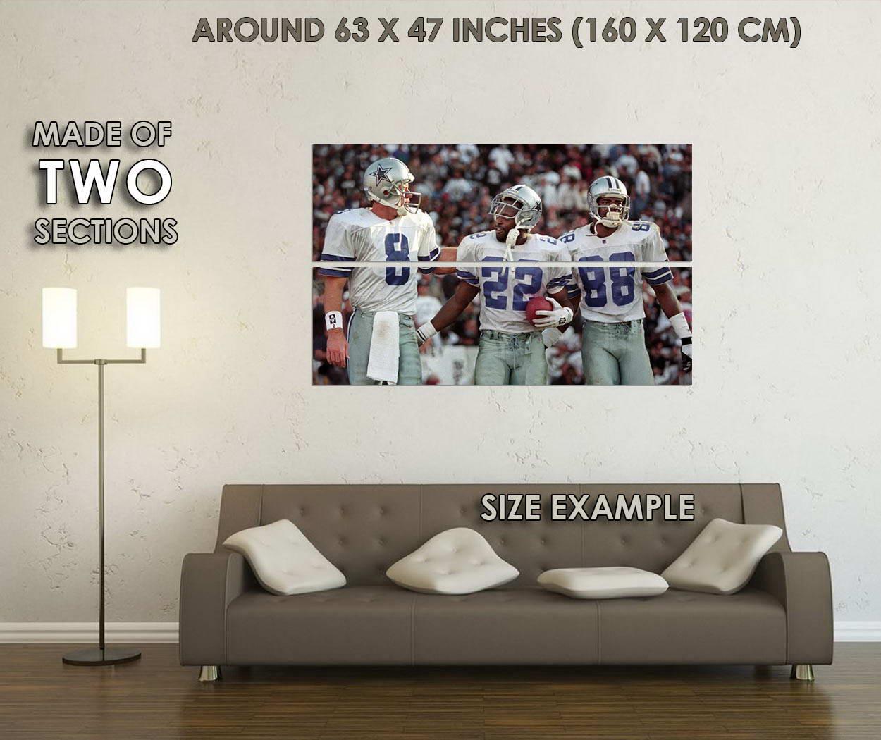 10787-Emmitt-Smith-NFL-Soccer-Sports-LAMINATED-POSTER-CA thumbnail 6
