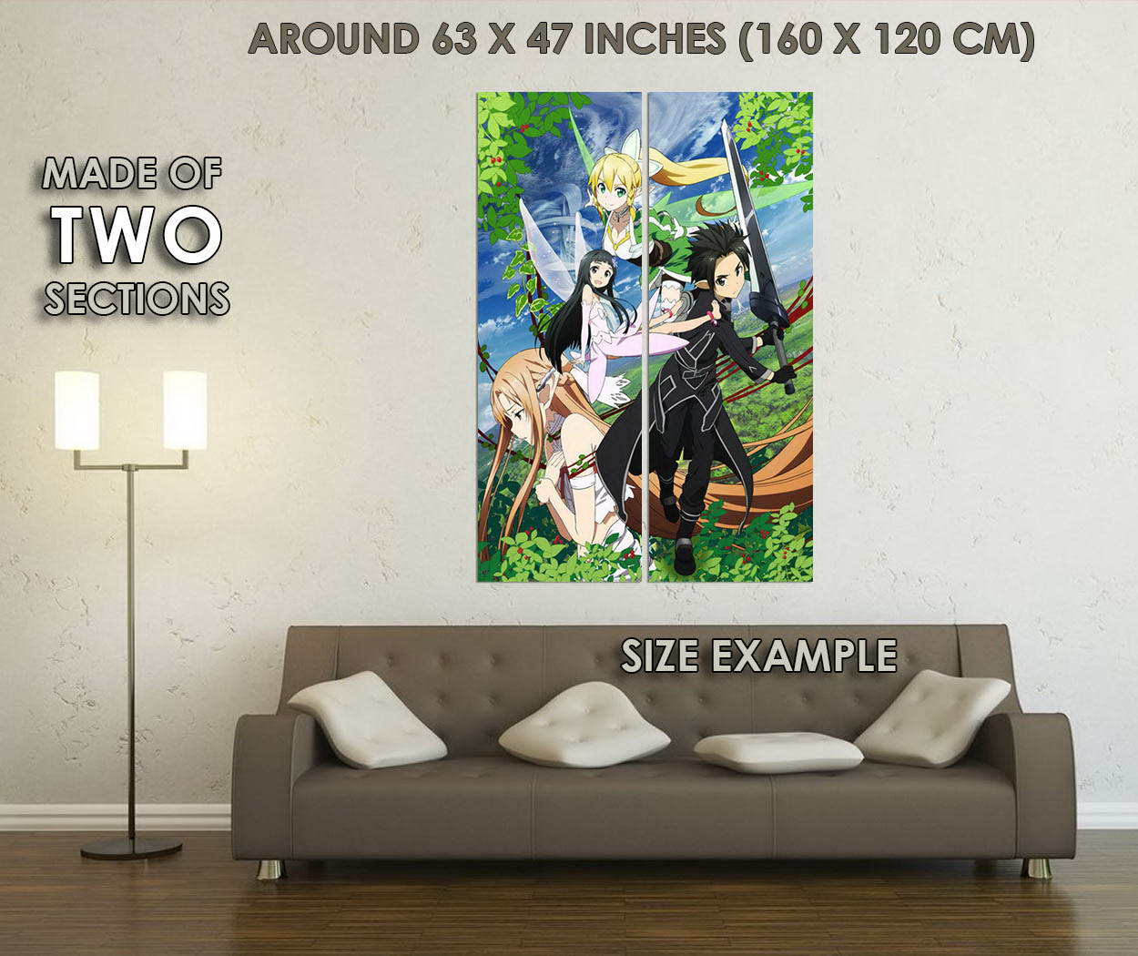 10788-Sword-Art-Online-2-Characters-Japanese-Anime-LAMINATED-POSTER-CA thumbnail 6