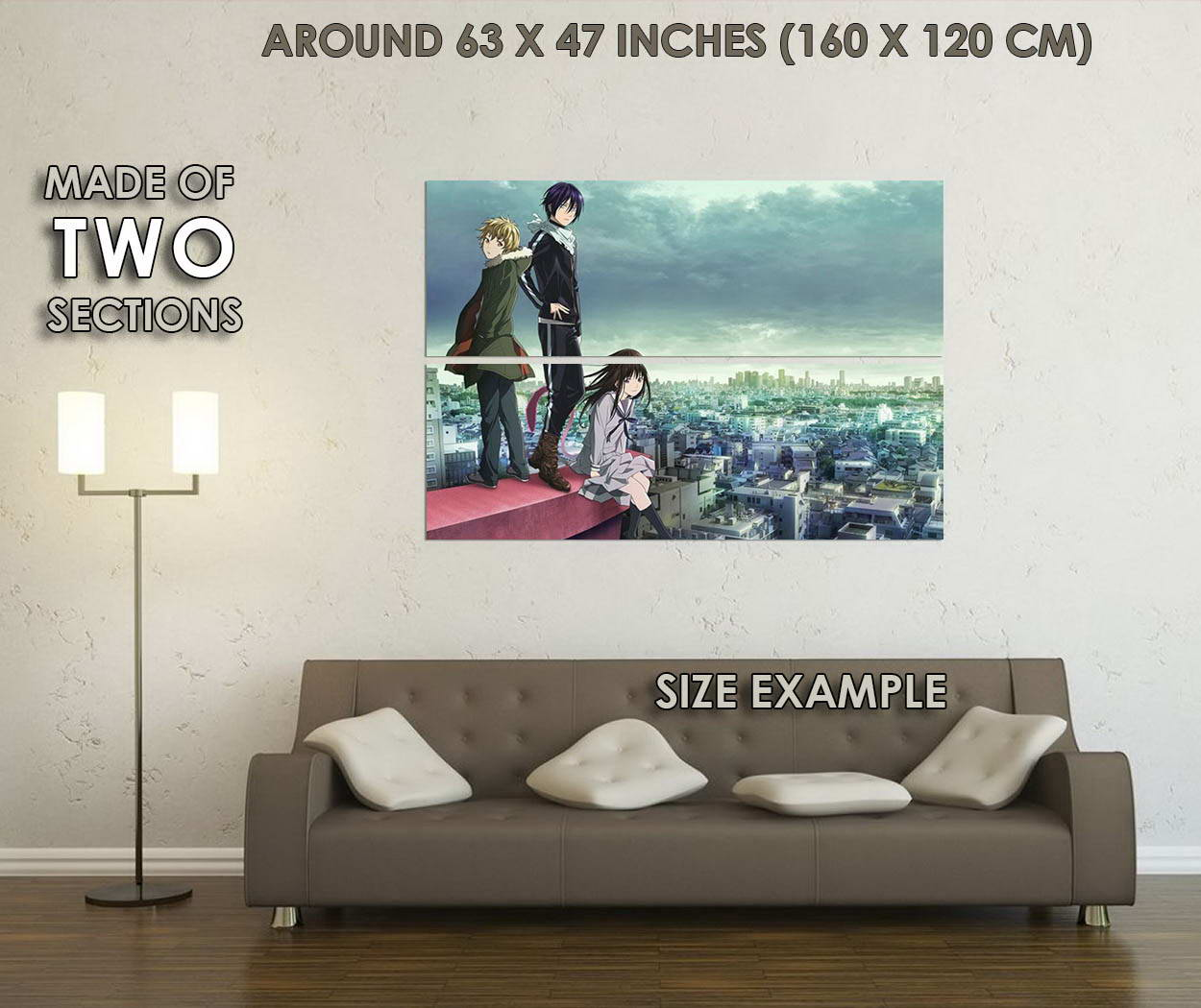 10791-Iki-Hiyori-Noragami-Anime-LAMINATED-POSTER-CA thumbnail 6
