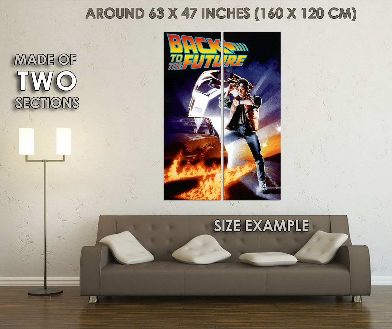 10822-Back-To-The-Future-1-Classic-Movie-LAMINATED-POSTER-CA thumbnail 6