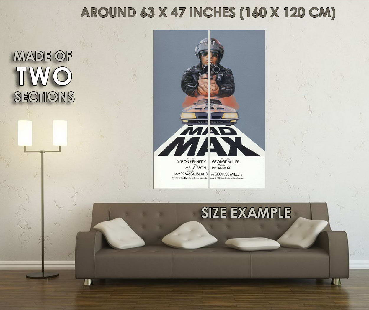 11634-Mad-Max-1-1879s-Movie-Art-Wall-Print-POSTER-CA thumbnail 6