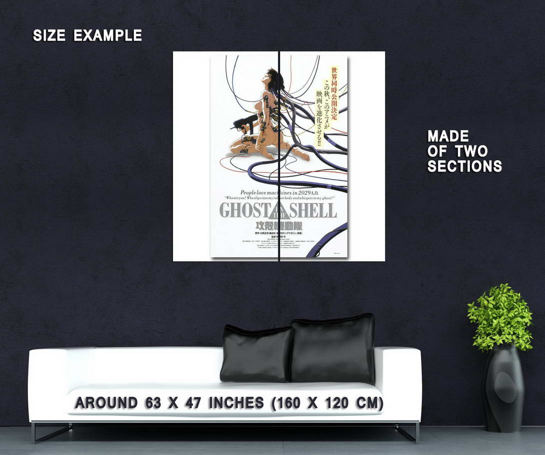 58218-GHOST-IN-THE-SHELL-Anime-Wall-Print-Poster-Affiche