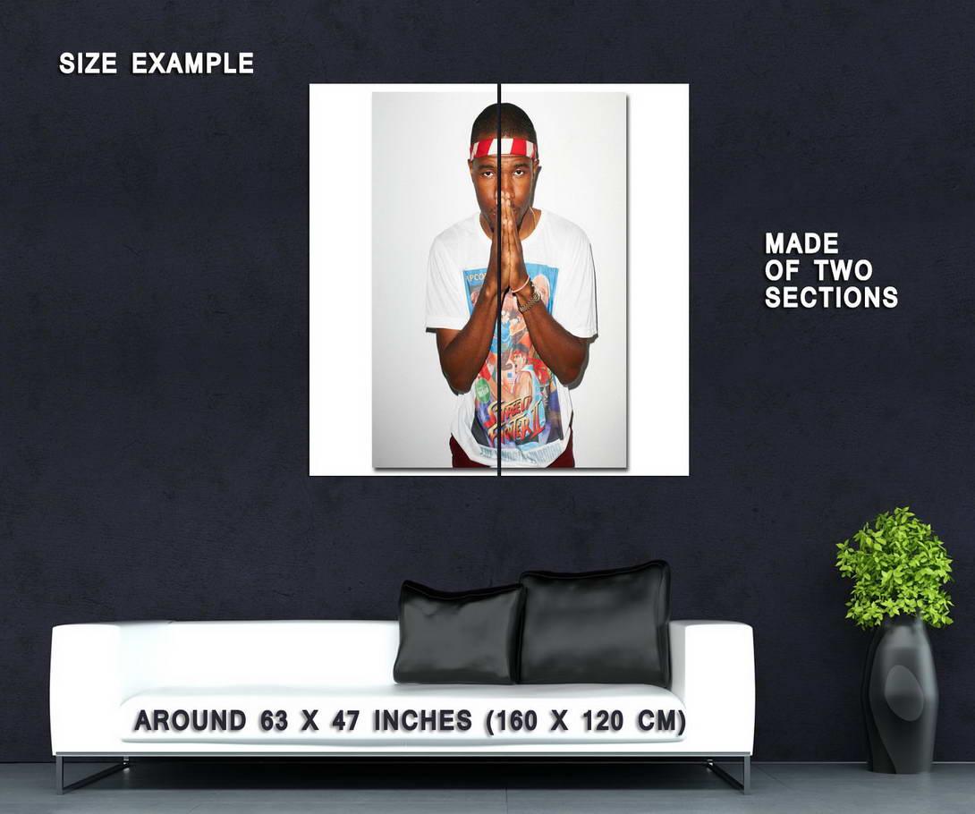 60420 Frank Ocean Ocean Ocean R&B Odd Future Pop Music Star Wall Print Poster AU f0fdd4