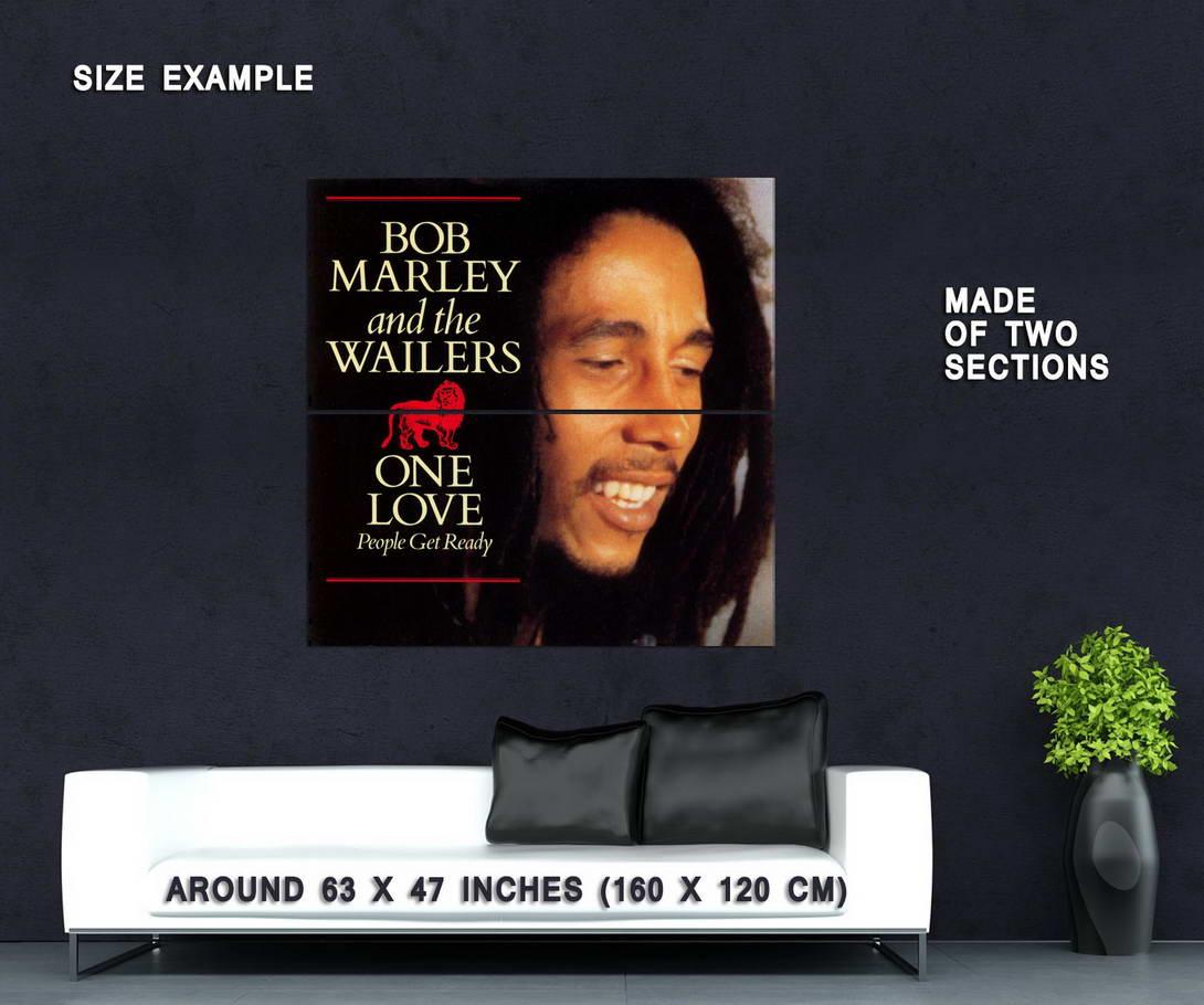 62288-BOB-MARLEY-ONE-LOVE-Wall-Print-Poster-Plakat Indexbild 6