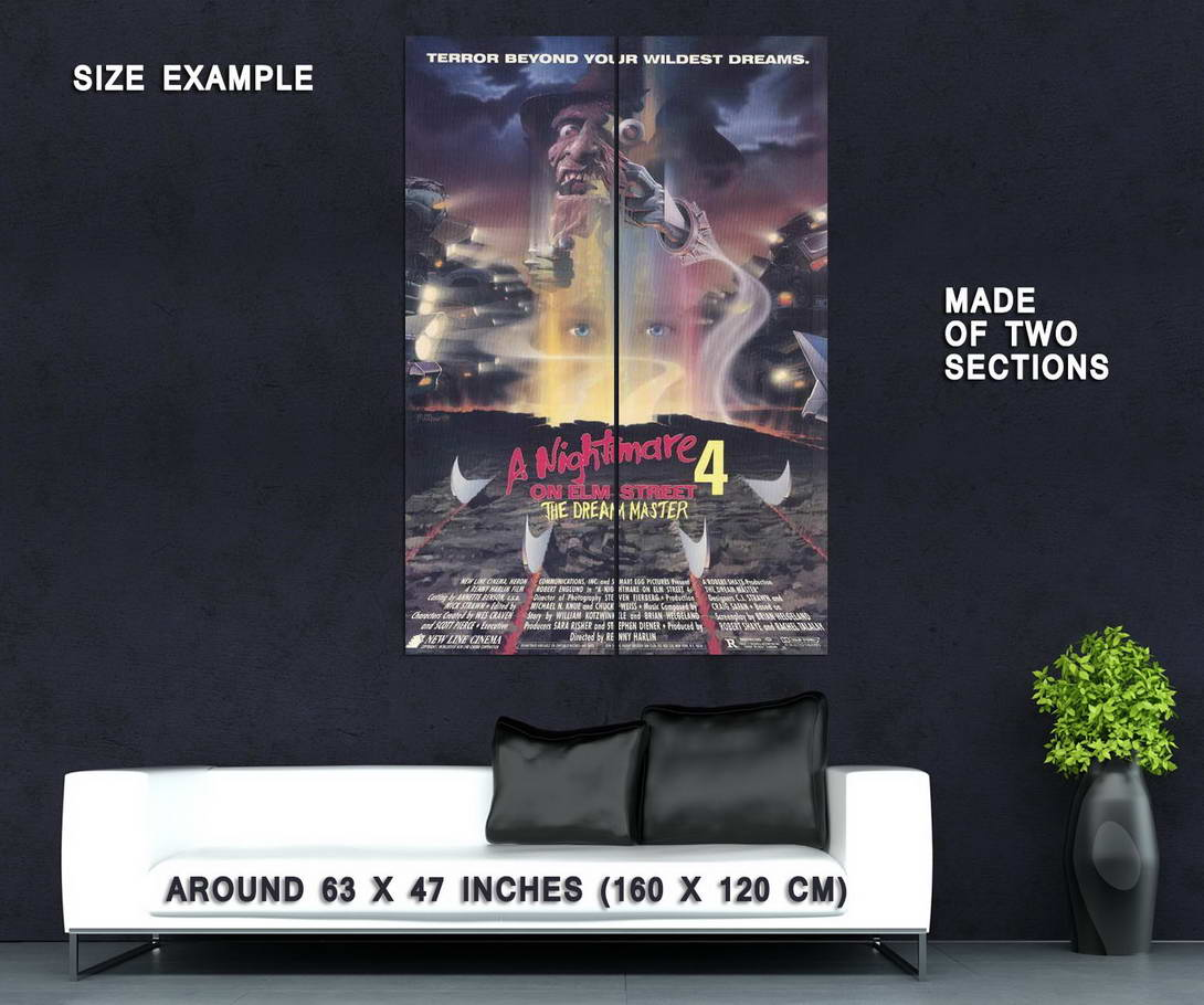 65762-A-Nightmare-on-Elm-Street-4-Dream-Master-Movie-Wall-Print-Poster-Affiche