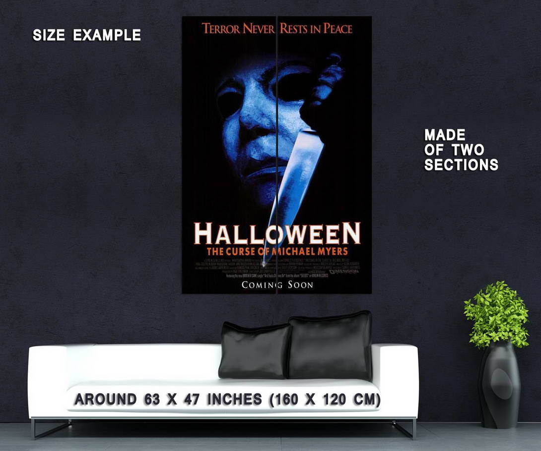 66767-Halloween-6-The-Curse-of-Michael-Myers-Movie-Wall-Print-Poster-Affiche