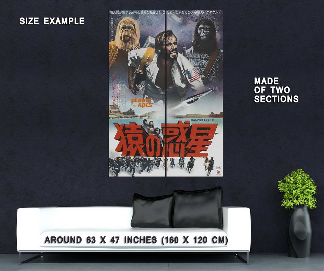 68919-Planet-of-the-Apes-Movie-Charlton-Heston-Wall-Print-Poster-Affiche