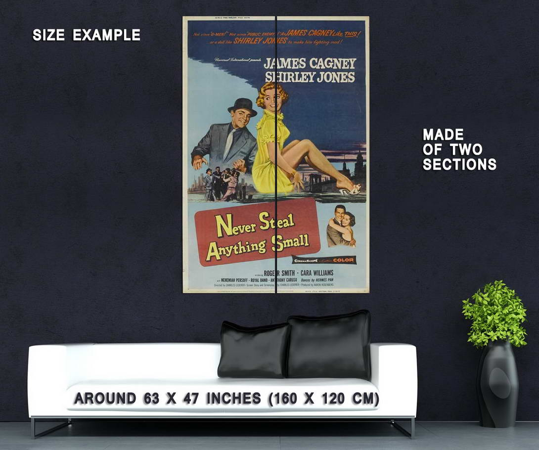 70432 Never Ste nything Small James Cagney hirley Wall Print Print Print Poster Affiche 437ffc