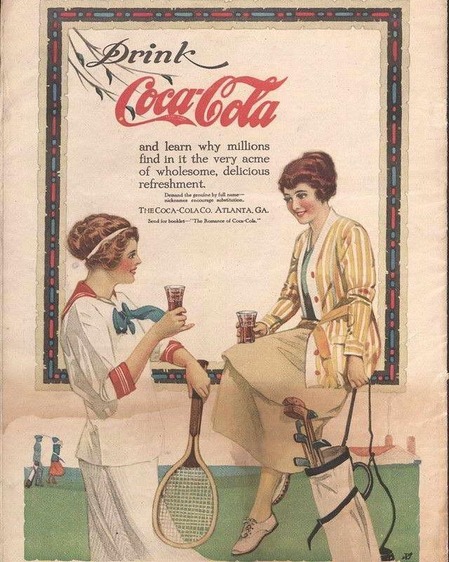 1920 S Coca Cola Ad Art Print Ebay