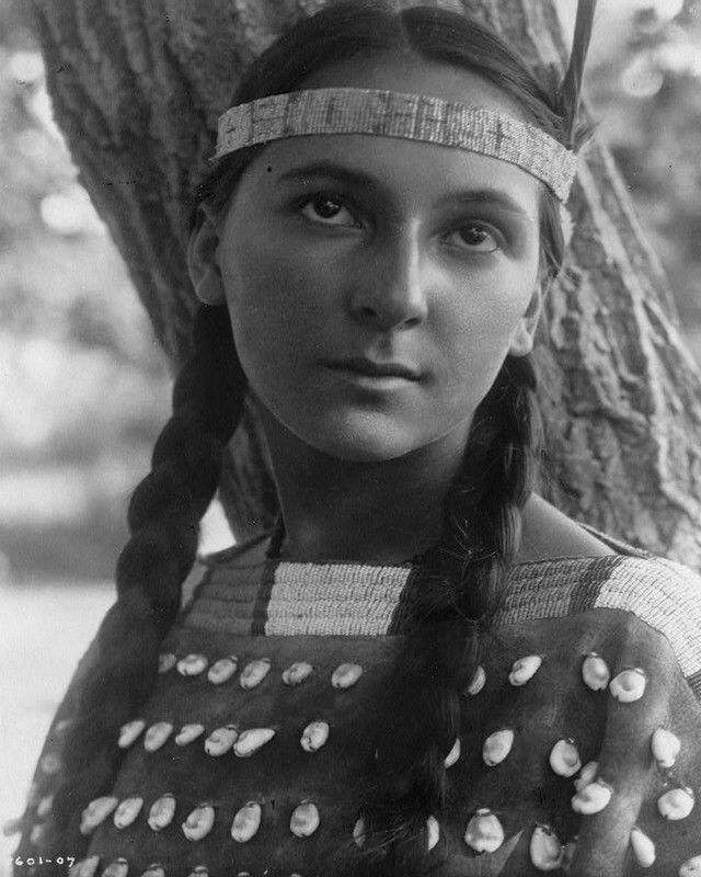 06369 Native American Indian Lucille - PHOTO Wall Print POSTER AU
