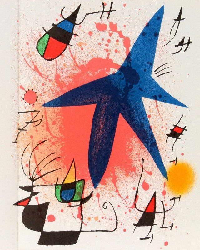 06700 JOAN MIRO FINE ART Wall Print POSTER AU