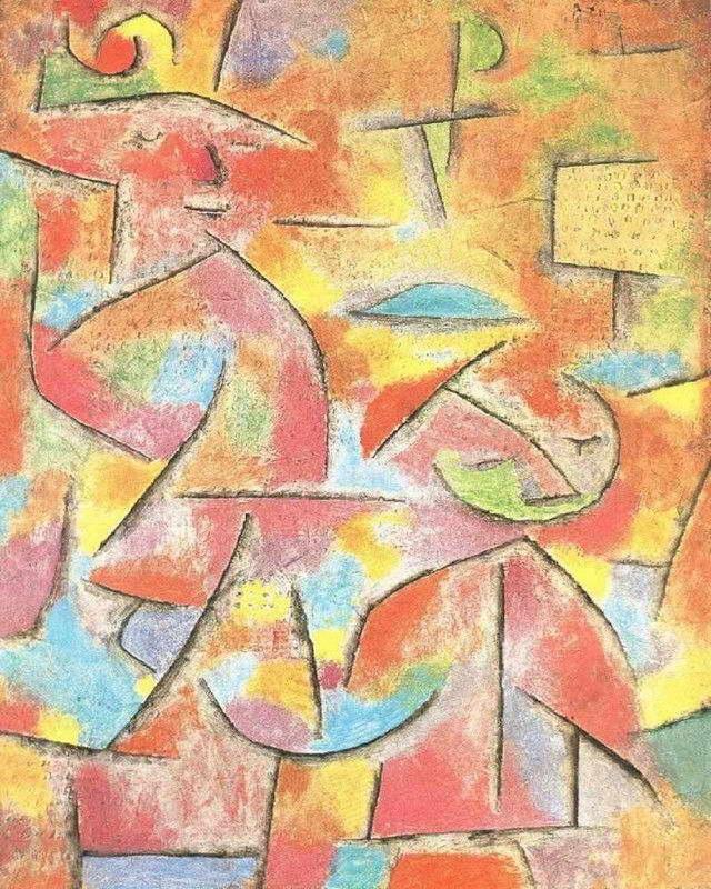 08347 Paul Klee fine arte della parete Stampa Poster UK