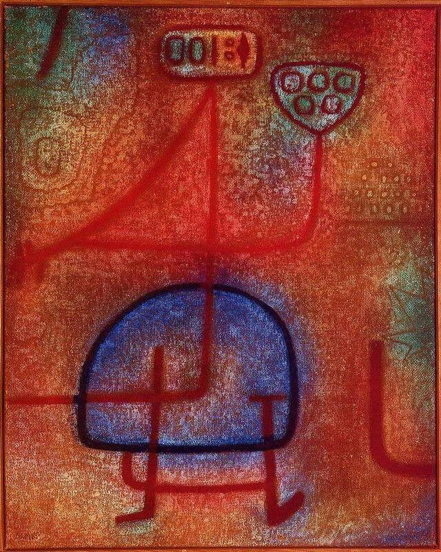 08878 PAUL KLEE FINE ART Wall Print POSTER CA