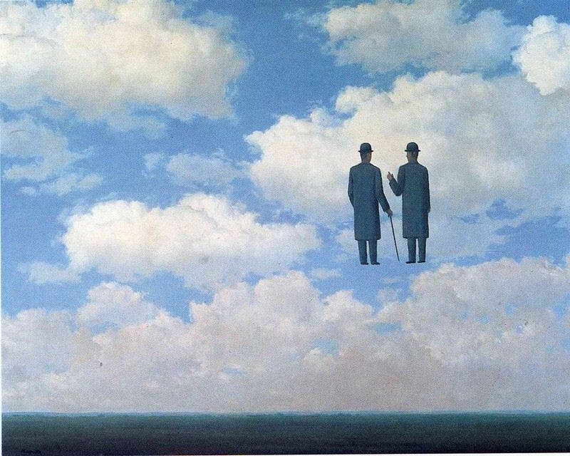 08894 RENE MAGRITTE THE INFINITE RECOGNITION FINE ART Wall Print POSTER CA