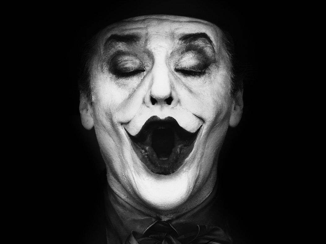 Chargement de limage 09164 batman the joker jack nicholson black white