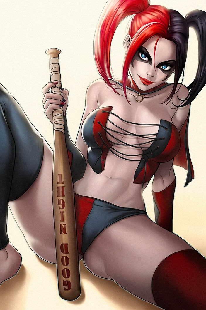 Harley quinn sexy art