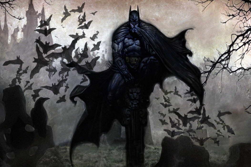 09417 Batman Art Wall Print POSTER CA