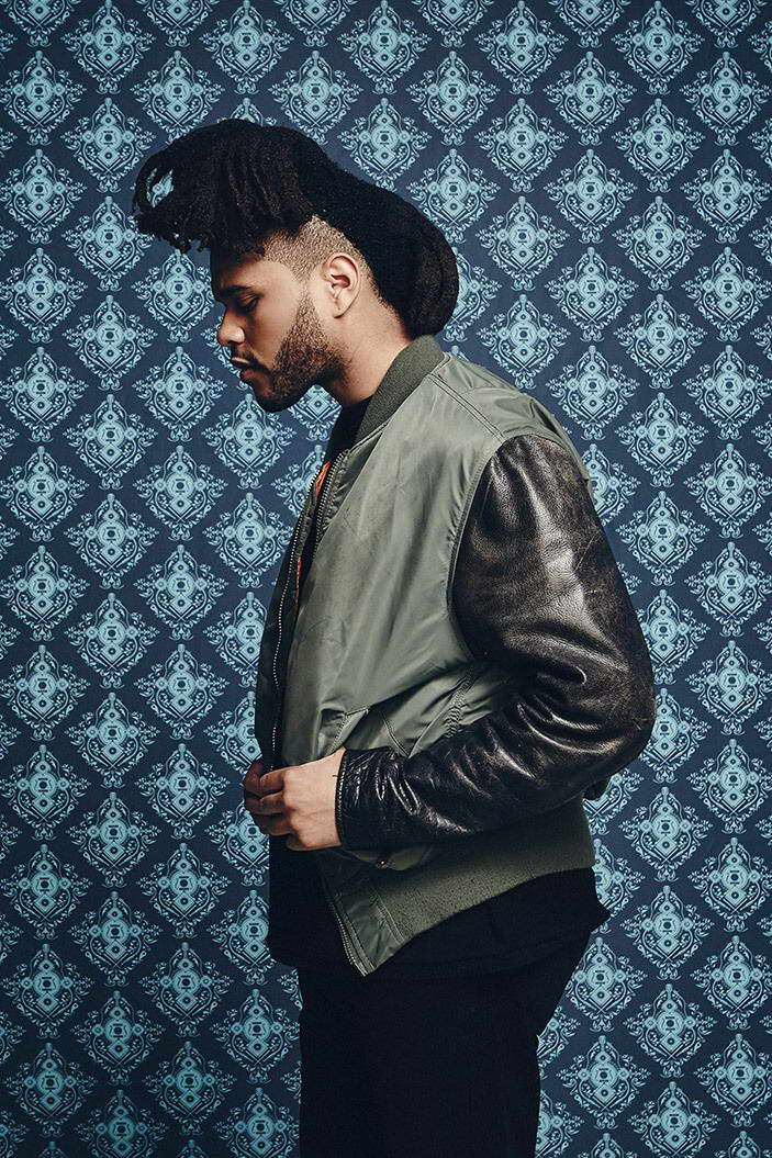 09424 The Weeknd Rapper Music Hip-Hop Wall Print POSTER AU
