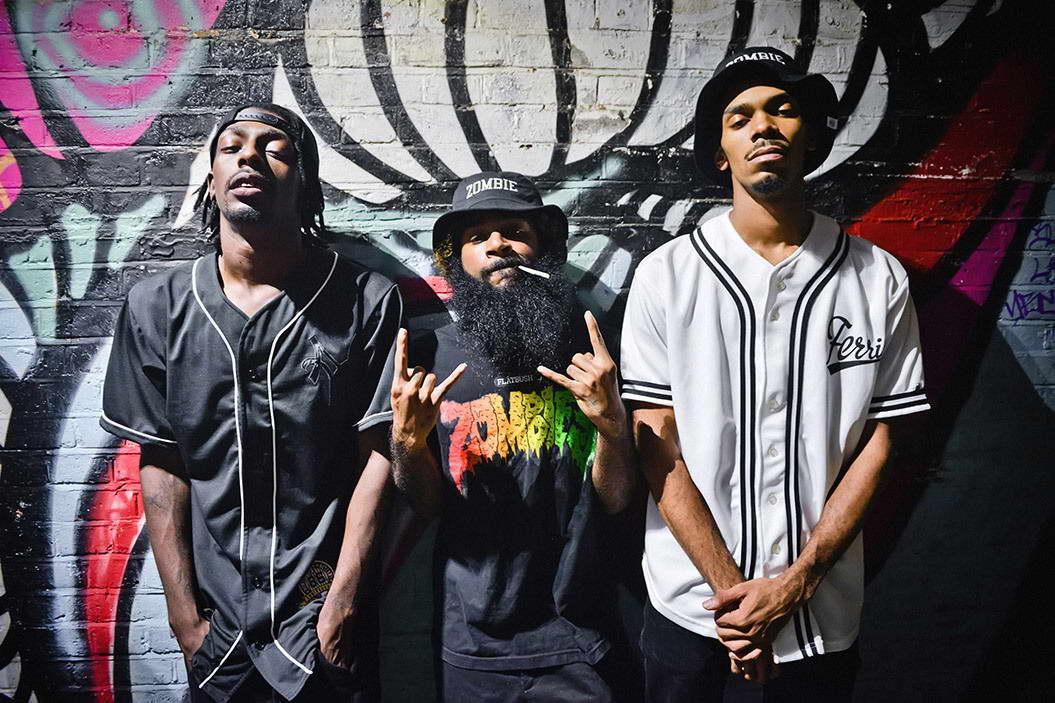 09474 Flatbush ZOMBiES Rap Music Hip-Hop Wall Print POSTER AU